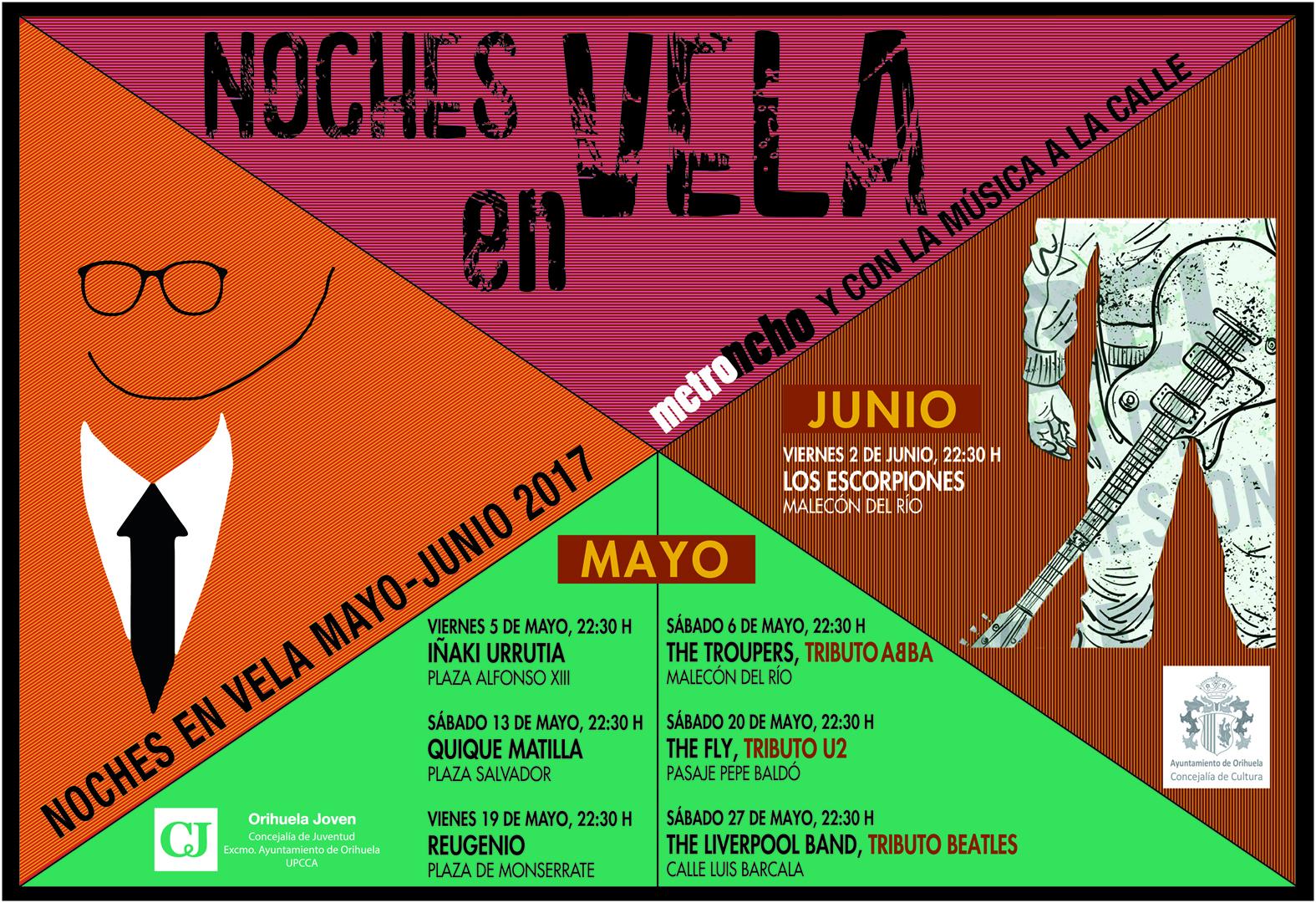 The Fly participará en la II edición de «Noches en vela» en Orihuela